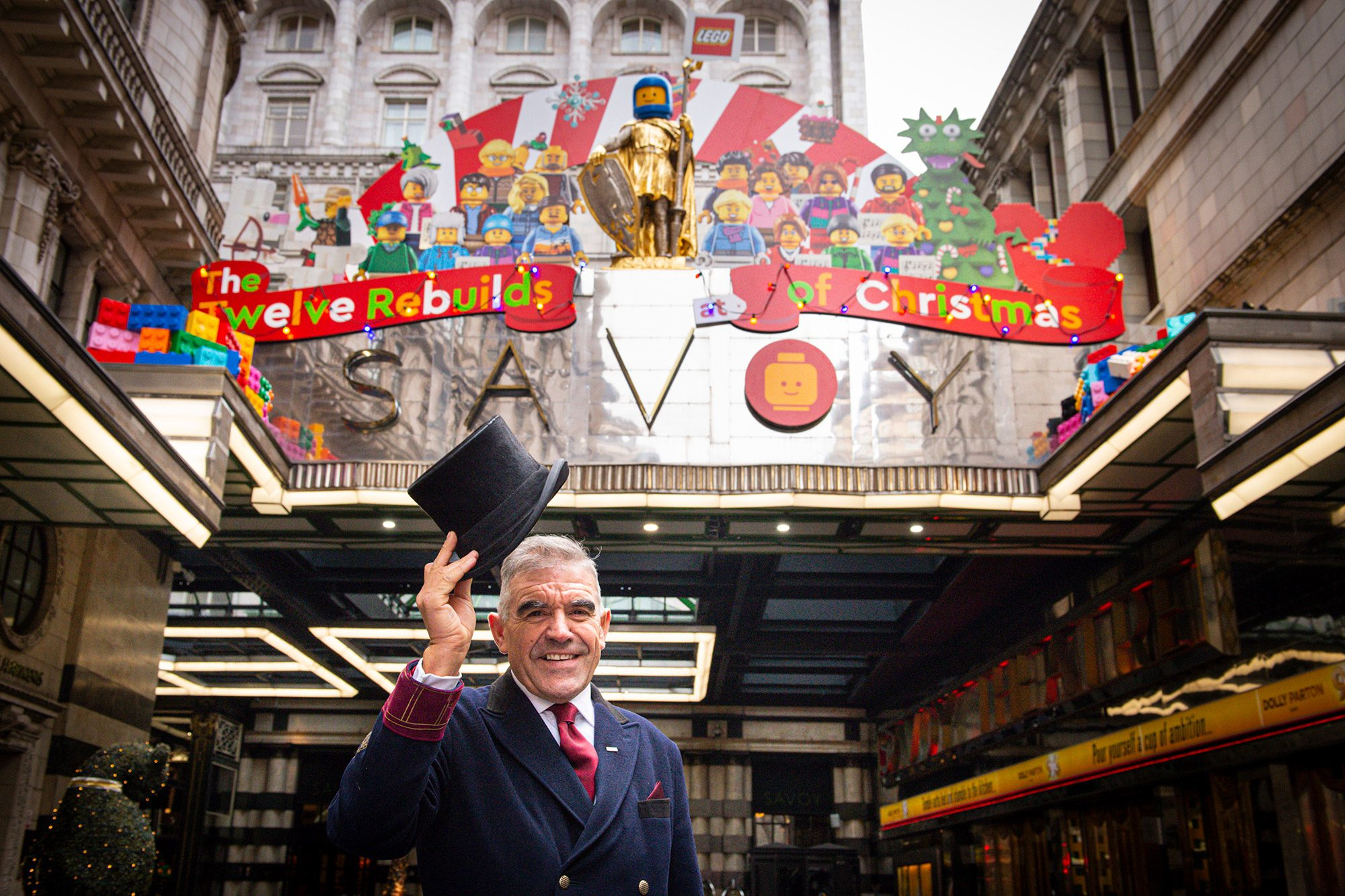The Twelve Rebuilds of Christmas at the Savoy